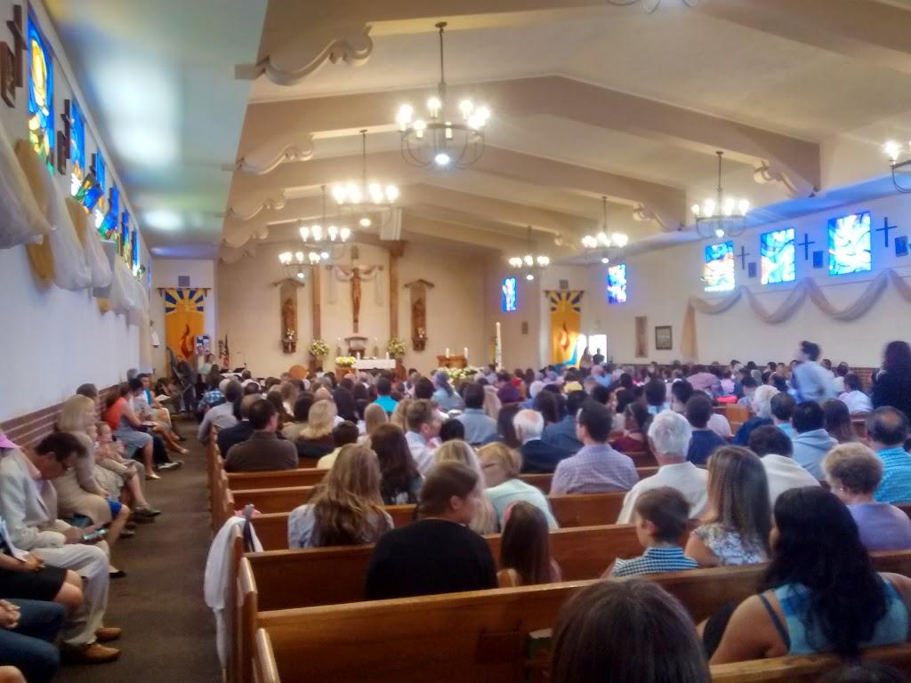 St Anastasias Catholic Church - church    Photo 3 of 10   Address: 7390 W Manchester Ave, Los Angeles, CA 90045, USA   Phone: (310) 670-2243