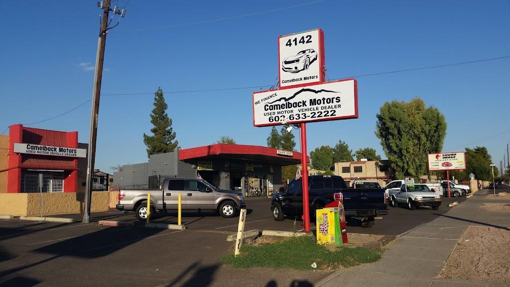 Camelback Motors - car dealer    Photo 1 of 1   Address: 4142 W Camelback Rd, Phoenix, AZ 85019, USA   Phone: (602) 633-2222