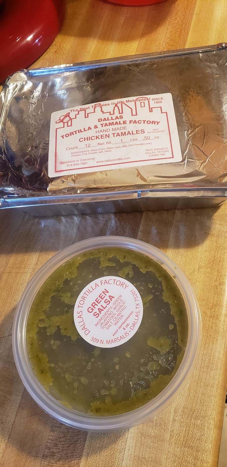 Dallas Tortilla & Tamale Factory - restaurant    Photo 6 of 10   Address: 309 N Marsalis Ave, Dallas, TX 75203, USA   Phone: (214) 943-7681
