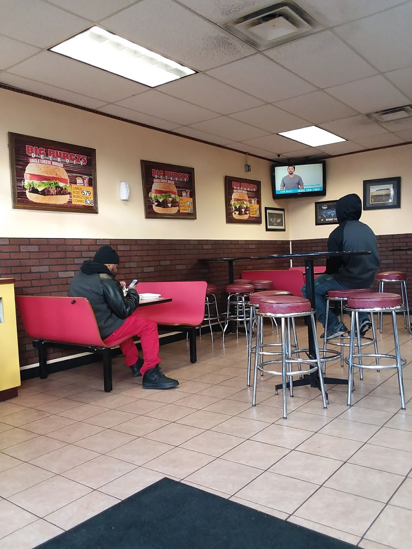 Motor City Burgzs - restaurant    Photo 3 of 10   Address: 17627 E Warren Ave, Detroit, MI 48224, USA   Phone: (313) 640-3956