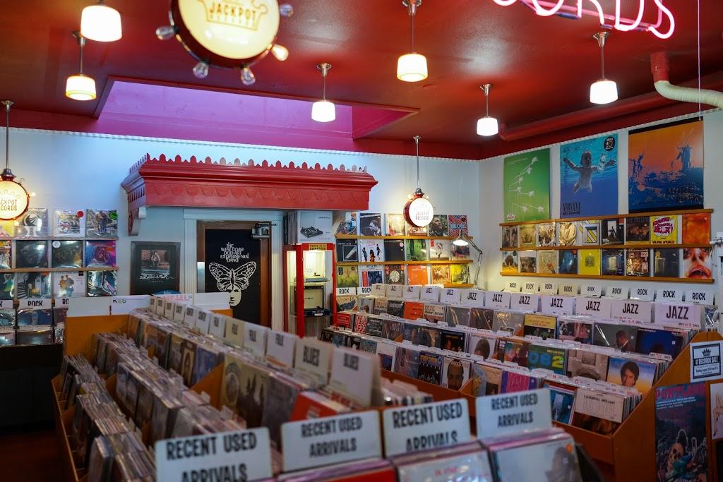 Jackpot Records - electronics store    Photo 8 of 10   Address: 3574 SE Hawthorne Blvd, Portland, OR 97214, USA   Phone: (503) 239-7561