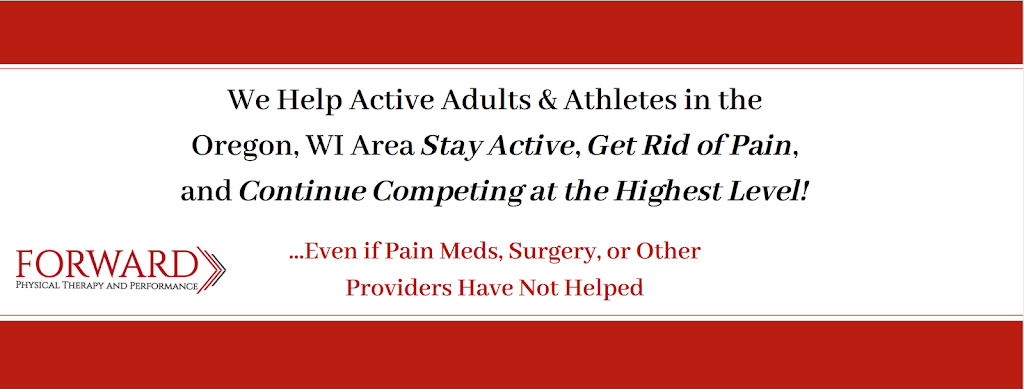 Forward Physical Therapy and Performance - health  | Photo 1 of 1 | Address: 280 W Netherwood Rd, Oregon, WI 53575, USA | Phone: (608) 751-8355