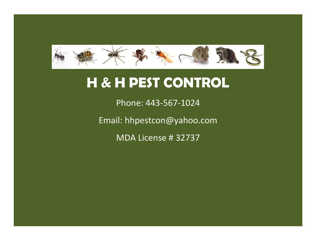 H&H Pest Control - home goods store    Photo 2 of 5   Address: 4680 Norrisville Rd, White Hall, MD 21161, USA   Phone: (443) 567-1024