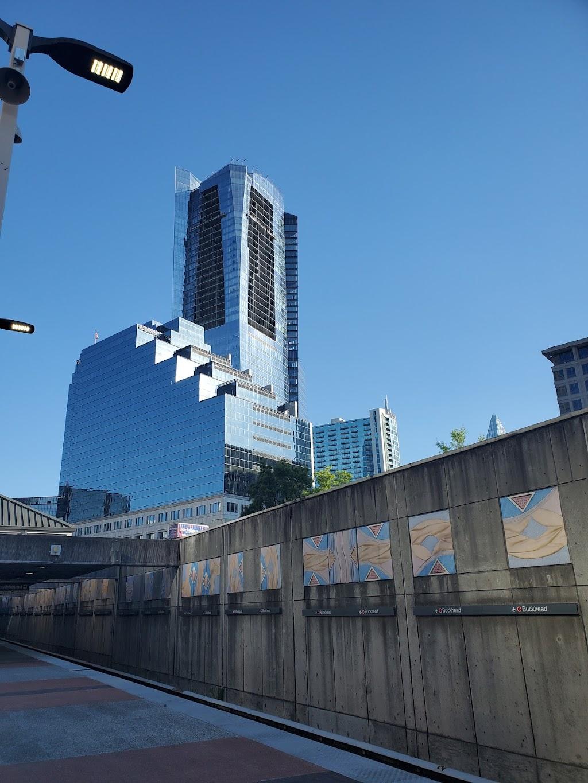 Buckhead Station - subway station    Photo 2 of 10   Address: 3360 Peachtree Rd NE, Atlanta, GA 30326, USA   Phone: (404) 848-4711