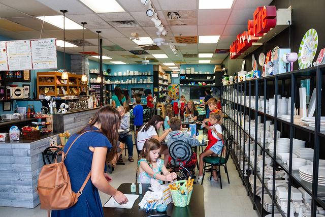 Paint Glaze & Fire | Ceramics & Coffee House - cafe  | Photo 3 of 10 | Address: 12683 Metcalf Ave, Overland Park, KS 66213, USA | Phone: (913) 661-2529