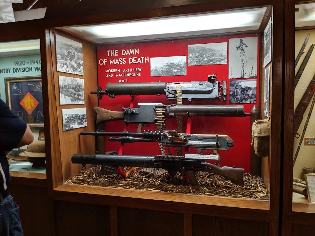 45th Infantry Division Museum - museum    Photo 4 of 10   Address: 2145 NE 36th St, Oklahoma City, OK 73111, USA   Phone: (405) 424-5313