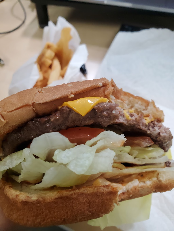 Jims Burgers - restaurant    Photo 2 of 10   Address: 805 S Euclid Ave, Ontario, CA 91762, USA   Phone: (909) 983-3412
