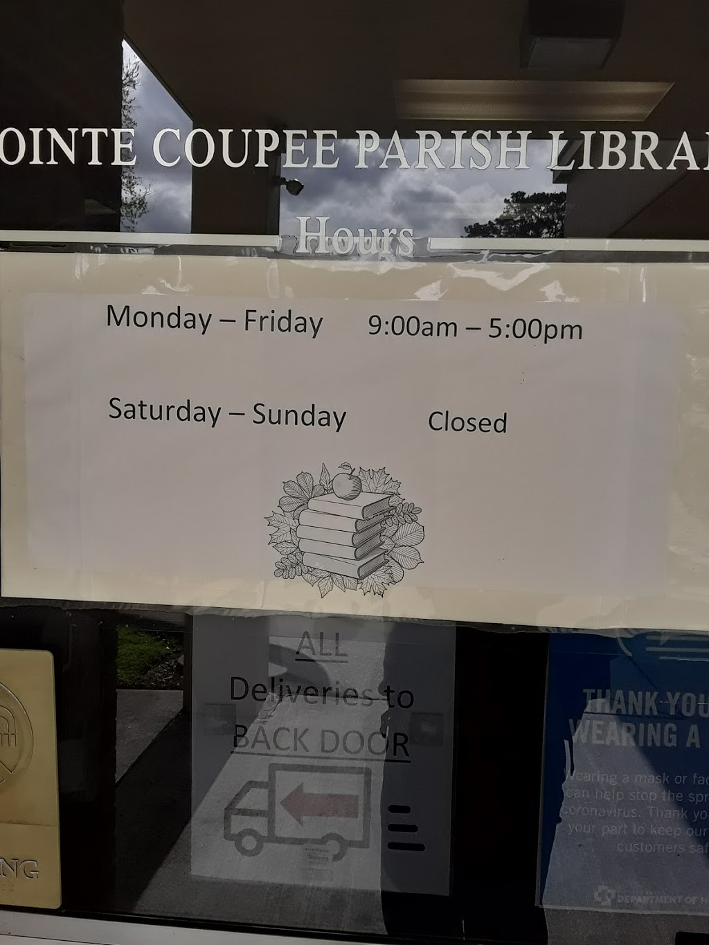 Pointe Coupee Library - library    Photo 3 of 5   Address: 201 Claiborne St, New Roads, LA 70760, USA   Phone: (225) 638-7593