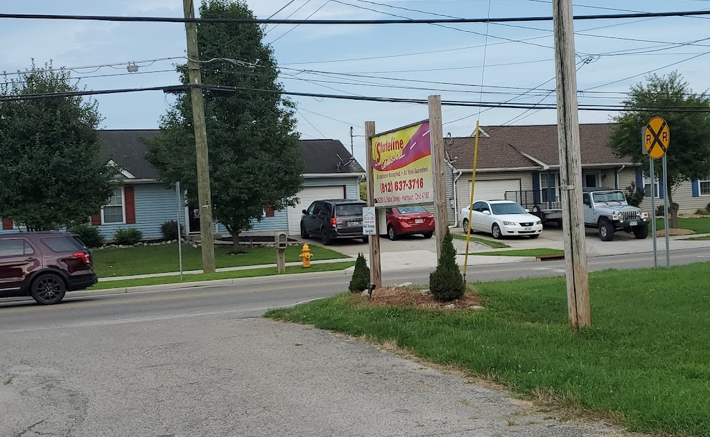 State Line Garage And Collison - car repair    Photo 2 of 6   Address: 26289 S State St, West Harrison, IN 47060, USA   Phone: (812) 637-3716