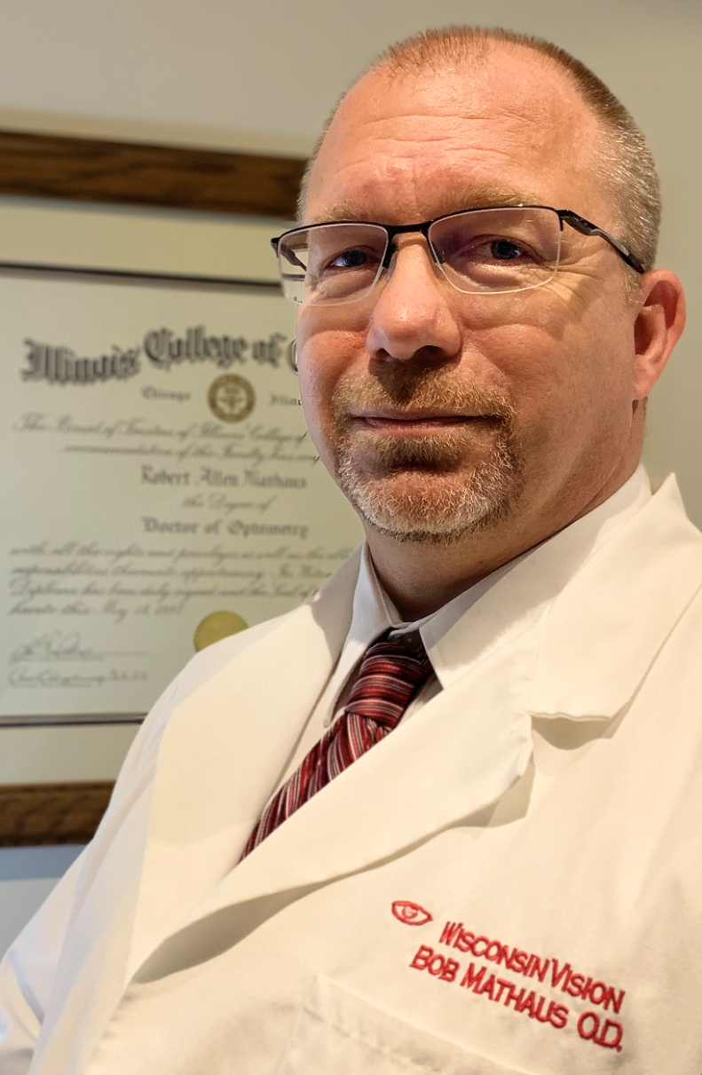 Dr. Robert Mathaus, O.D., BSVS - health  | Photo 1 of 1 | Address: N85 W16033 Appleton Ave, Menomonee Falls, WI 53051, USA | Phone: (262) 251-1900
