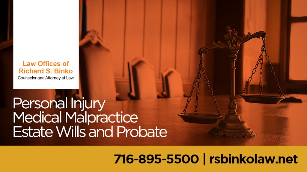 Law Offices of Richard S. Binko - lawyer  | Photo 4 of 10 | Address: 2427 William St, Buffalo, NY 14206, USA | Phone: (716) 895-5500