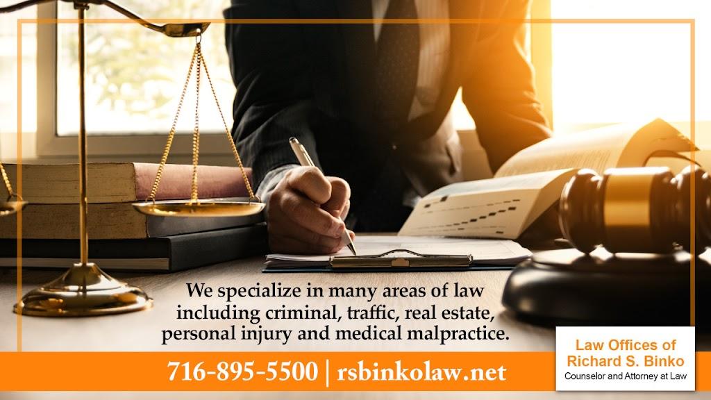 Law Offices of Richard S. Binko - lawyer  | Photo 6 of 10 | Address: 2427 William St, Buffalo, NY 14206, USA | Phone: (716) 895-5500