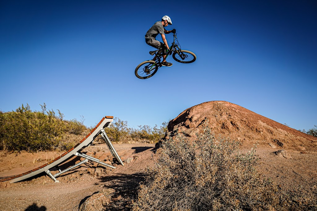 Desert Trails Bike Park - park  | Photo 1 of 10 | Address: 2955 N Recker Rd, Mesa, AZ 85215, USA | Phone: (480) 644-7529