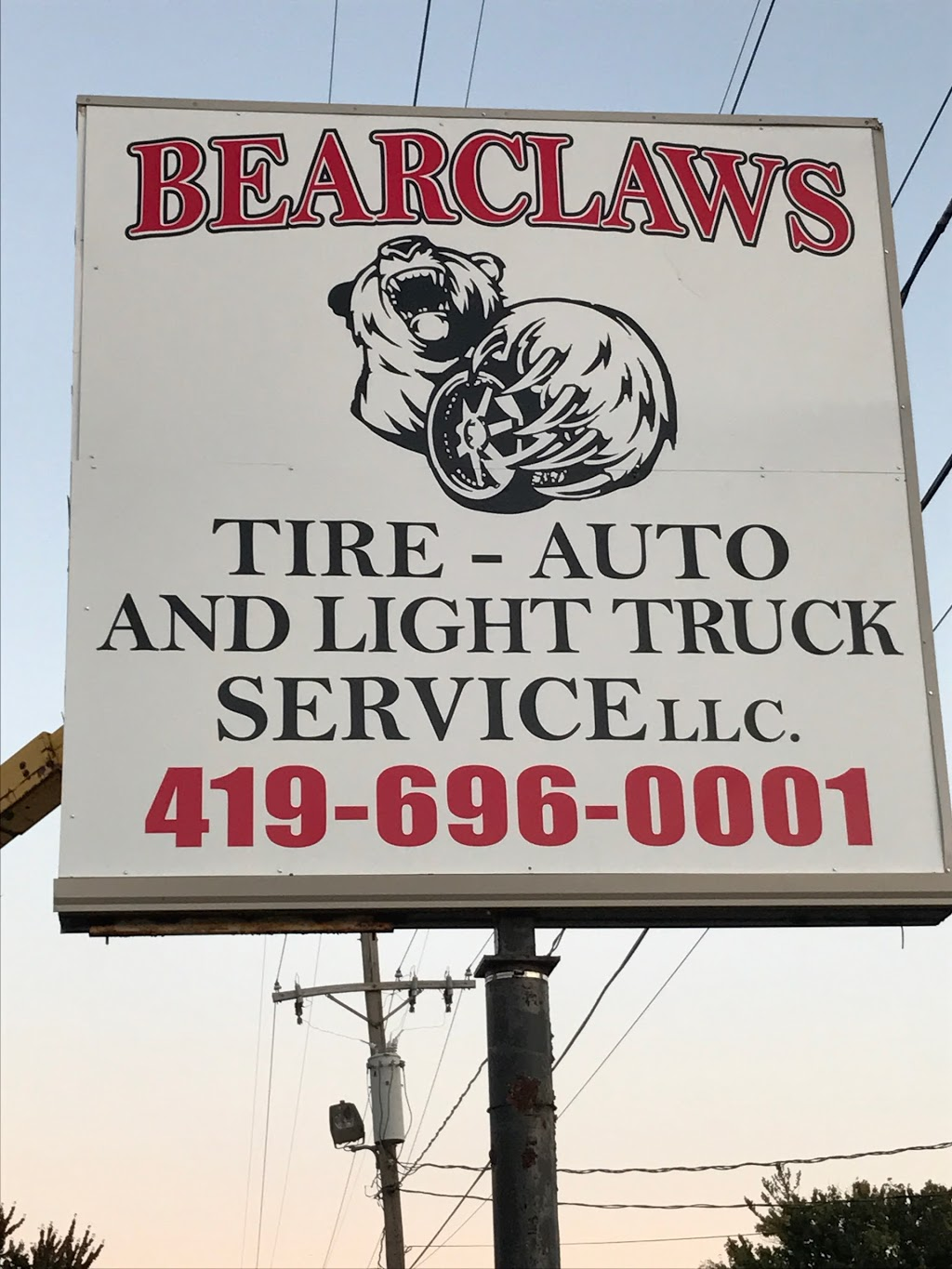 BearClaws Tire-Auto and Light Truck Service LLC - car repair  | Photo 7 of 8 | Address: 5601 Woodville Rd, Northwood, OH 43619, USA | Phone: (419) 696-0001