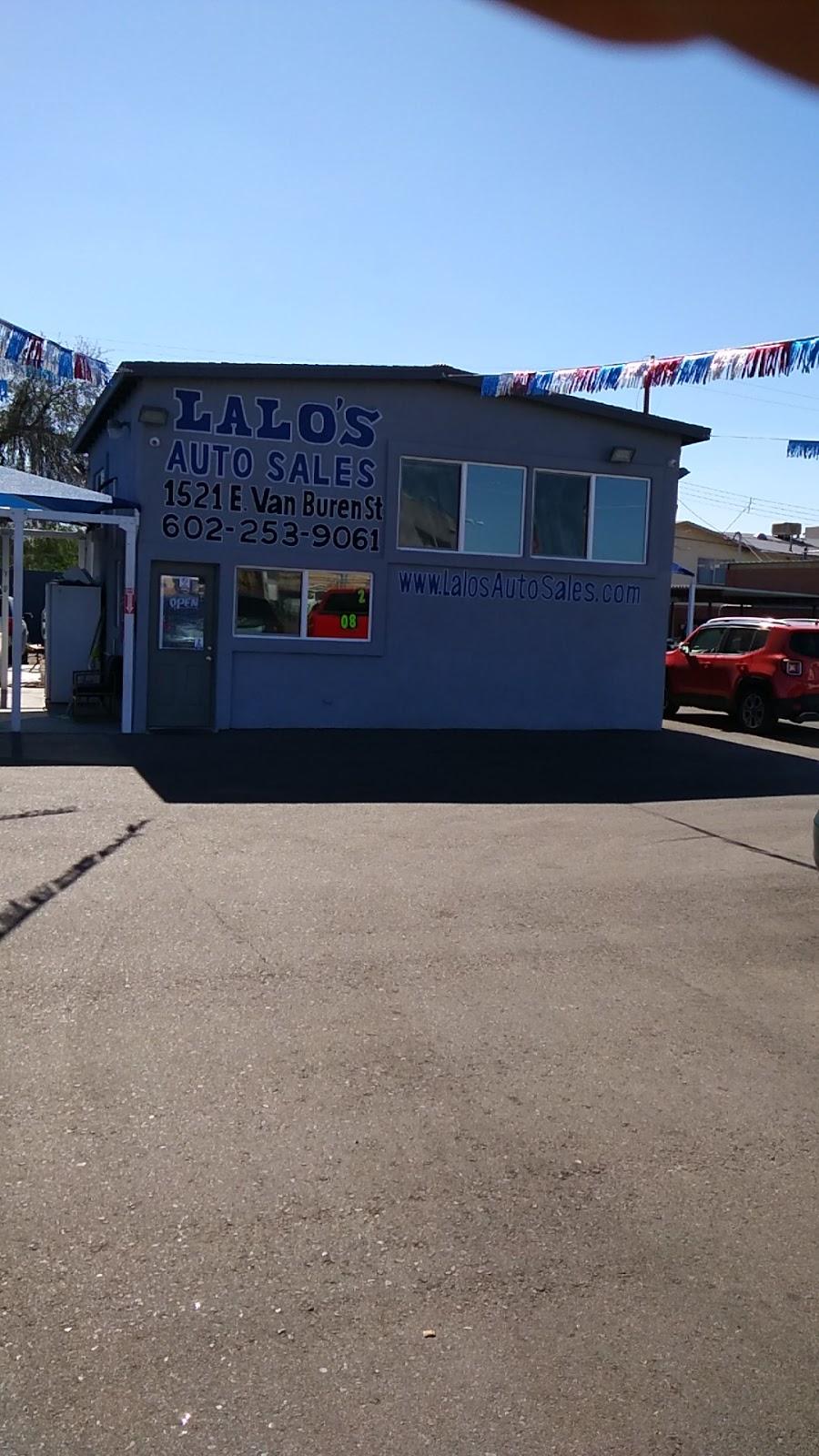 Lalos Auto Sales - car dealer    Photo 7 of 10   Address: 1521 E Van Buren St, Phoenix, AZ 85006, USA   Phone: (602) 253-9061