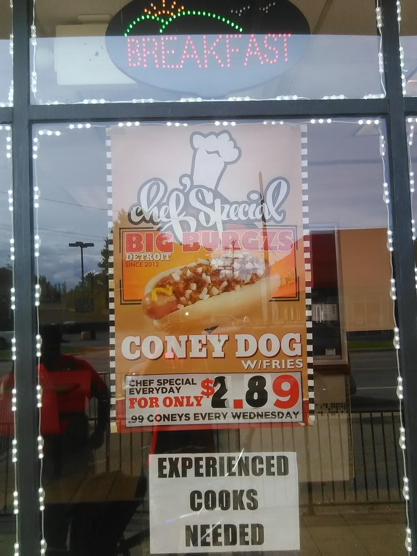 Motor City Burgzs - restaurant    Photo 7 of 10   Address: 17627 E Warren Ave, Detroit, MI 48224, USA   Phone: (313) 640-3956