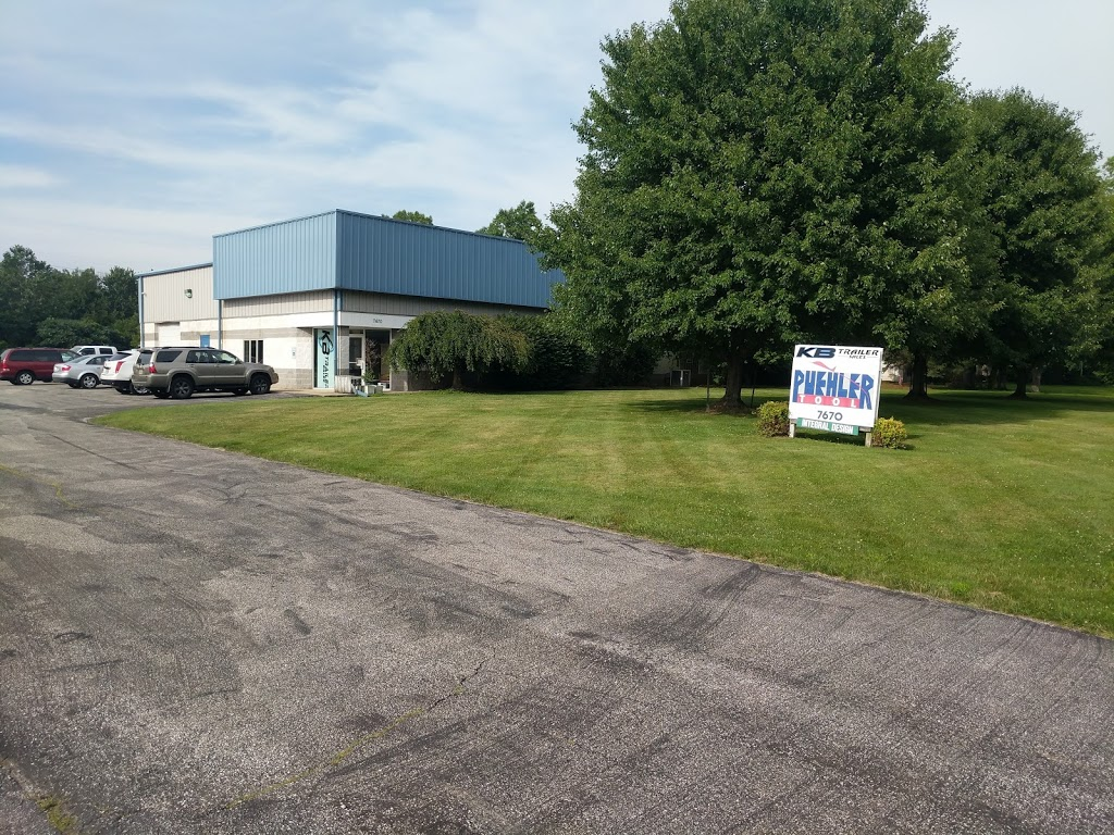 KB Trailer Sales - store  | Photo 6 of 8 | Address: 7670 Hub Pkwy, Cleveland, OH 44125, USA | Phone: (216) 930-5510