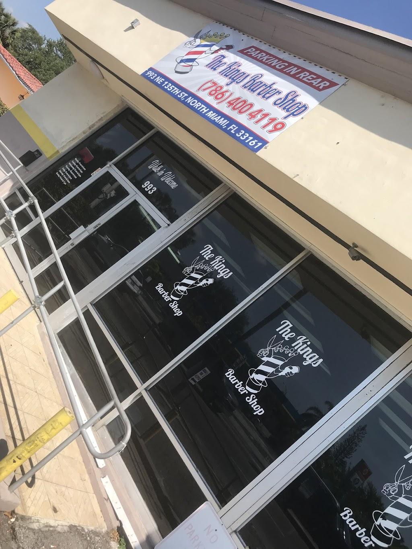 The Kings Barbershop/Salon - hair care    Photo 3 of 10   Address: 993 NE 135th St, North Miami, FL 33161, USA   Phone: (786) 400-4119