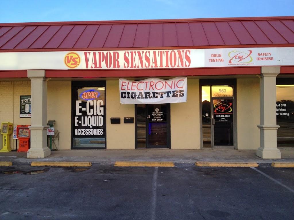 Vapor Sensations And E Cigs - store  | Photo 1 of 10 | Address: 959 Winscott Rd, Benbrook, TX 76126, USA | Phone: (682) 312-5122