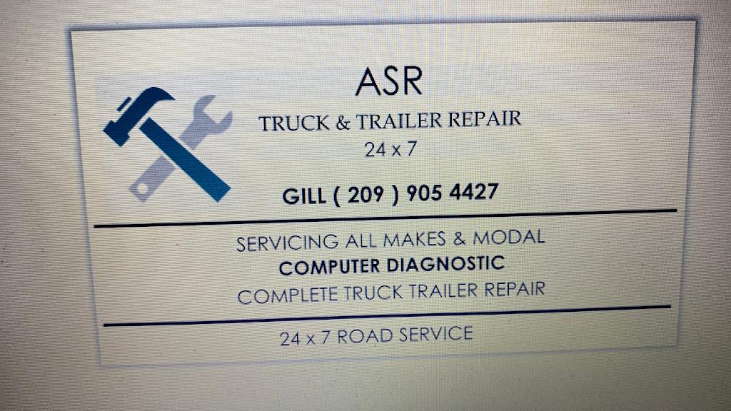 Asr truck & trailer repair Inc - car repair  | Photo 1 of 10 | Address: 264 Swanson Rd, Manteca, CA 95337, USA | Phone: (209) 905-4427