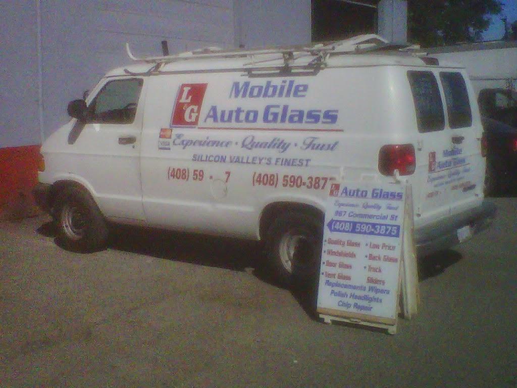 LG Auto Glass - car repair    Photo 8 of 10   Address: 1199 S 1st St, San Jose, CA 95110, USA   Phone: (408) 590-3875