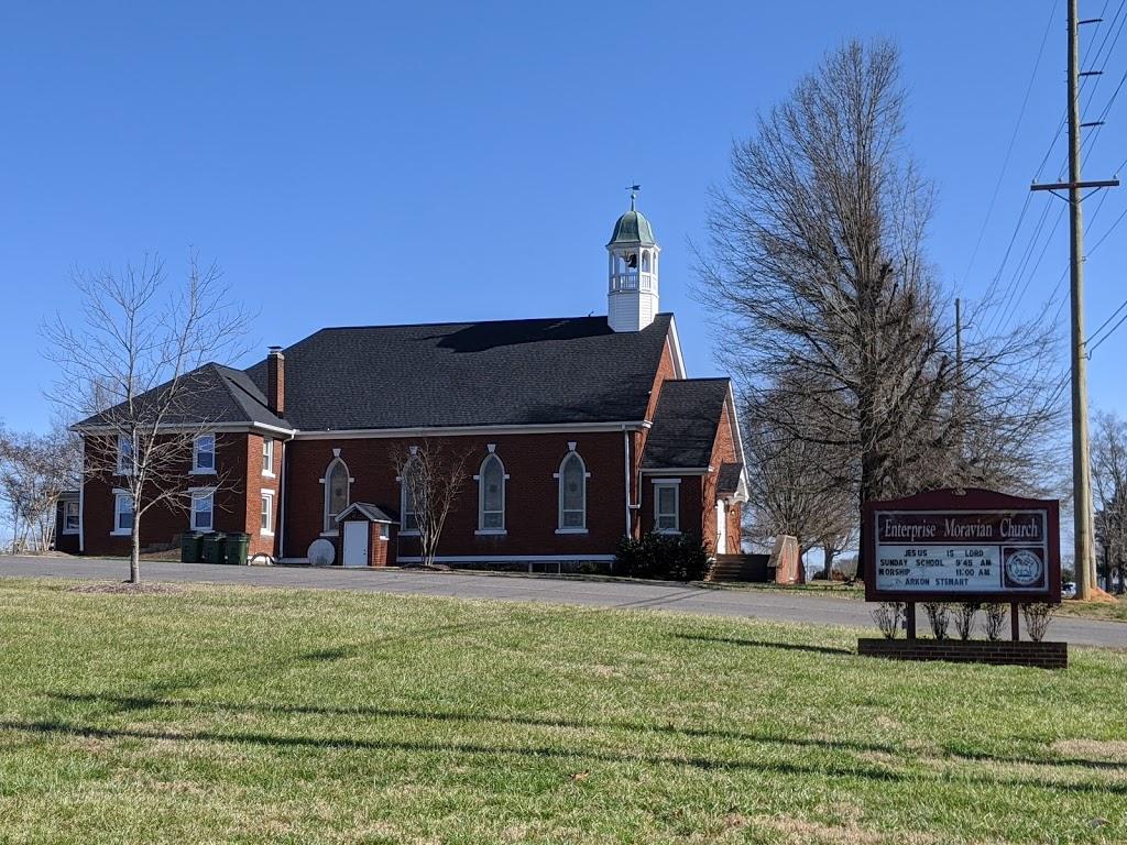 Enterprise Moravian Church - church    Photo 1 of 2   Address: 2733 Enterprise Rd, Lexington, NC 27295, USA   Phone: (336) 764-1281