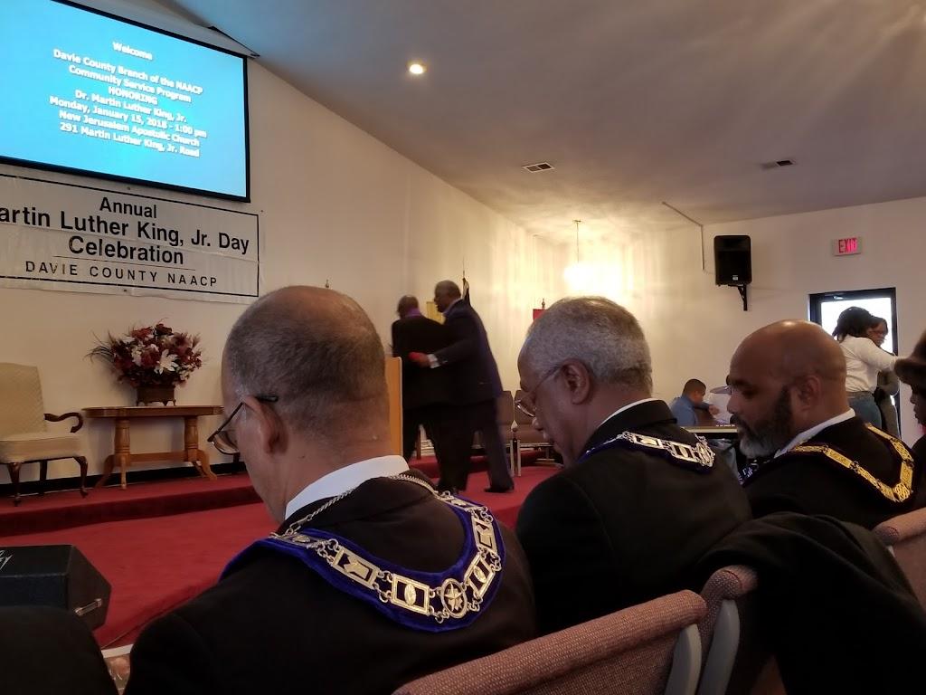 New Jerusalem Apostolic Church - church  | Photo 1 of 2 | Address: 291 Campbell Rd, Mocksville, NC 27028, USA | Phone: (336) 751-0049