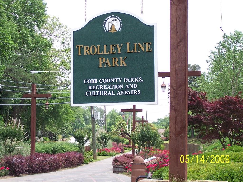 Trolley Line Park - park    Photo 1 of 1   Address: 4700 N Church Ln SE, Smyrna, GA 30080, USA   Phone: (770) 528-8810