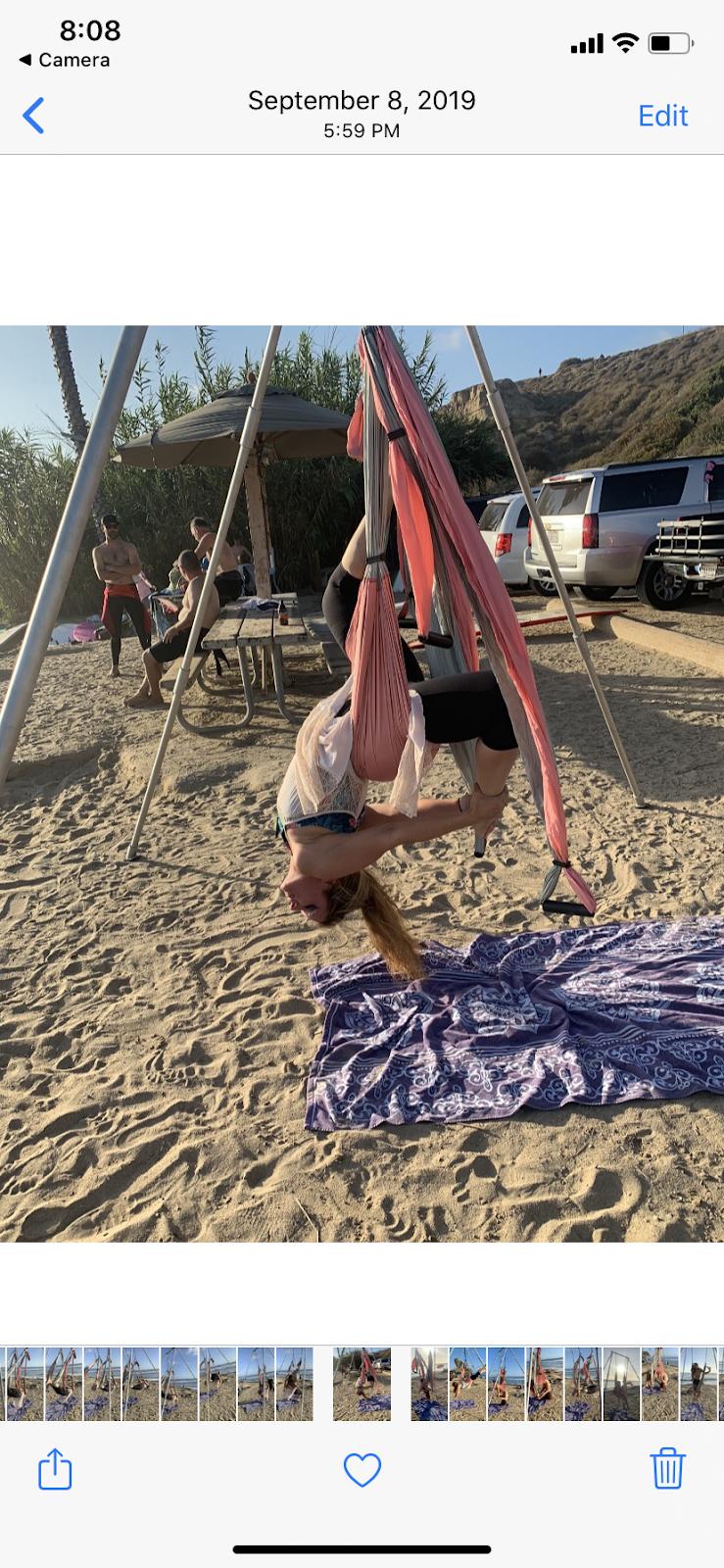 Yoga Trapeze Orange County - school    Photo 10 of 10   Address: 815 N San Pablo Ct, Long Beach, CA 90813, USA   Phone: (949) 324-6918