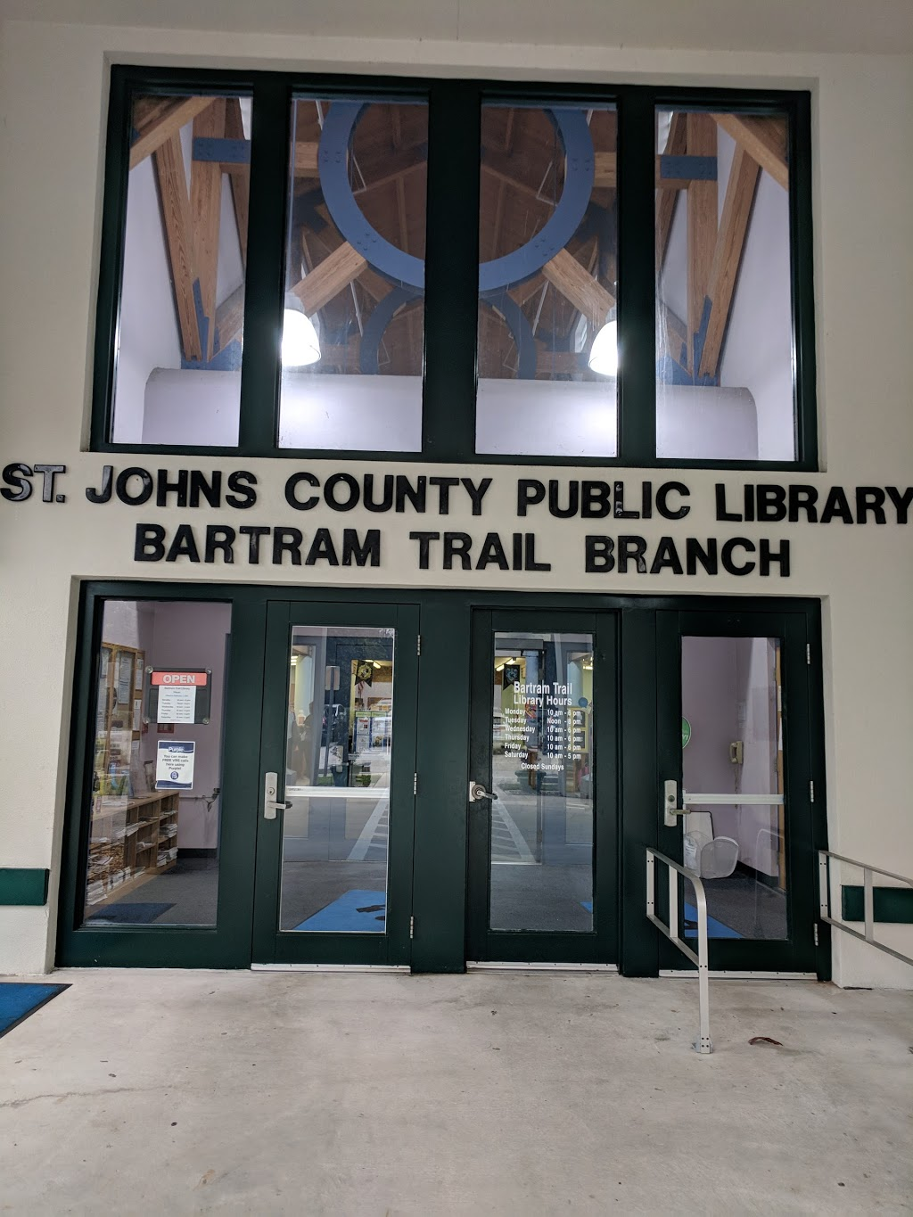 Bartram Trail Branch | St. Johns County Public Library System - library  | Photo 4 of 7 | Address: 60 Davis Pond Blvd, Fruit Cove, FL 32259, USA | Phone: (904) 827-6960