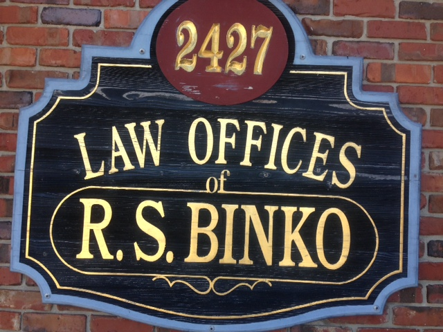 Law Offices of Richard S. Binko - lawyer  | Photo 2 of 10 | Address: 2427 William St, Buffalo, NY 14206, USA | Phone: (716) 895-5500