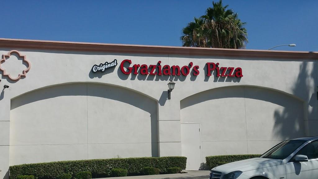 Grazianos Pizza Restaurant - meal delivery    Photo 1 of 10   Address: 333 Magnolia Ave, Corona, CA 92879, USA   Phone: (951) 734-8500