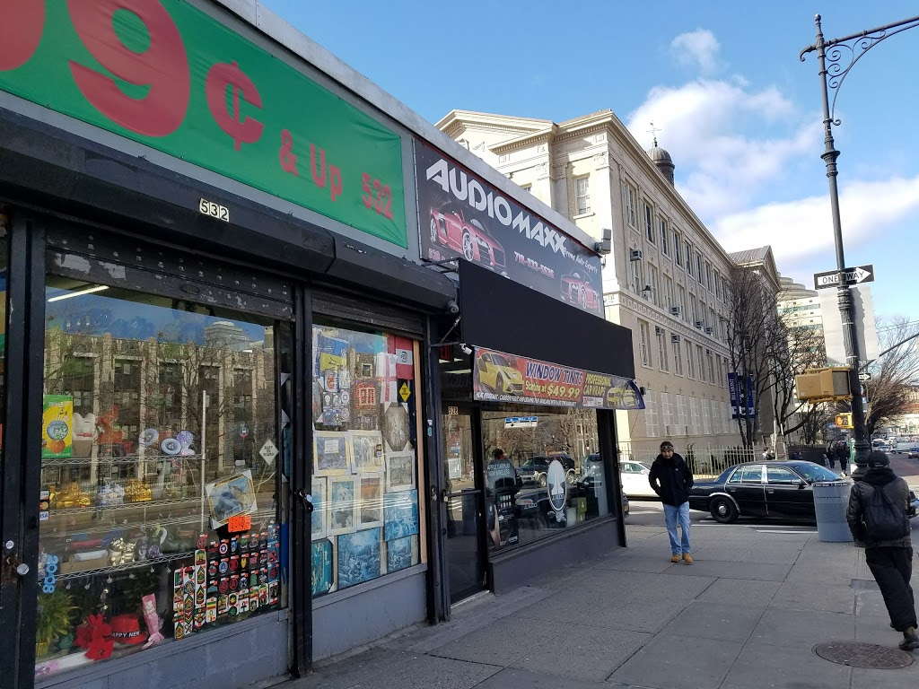 Audiomaxx - electronics store    Photo 1 of 10   Address: 528 E Fordham Rd, Bronx, NY 10458, USA   Phone: (718) 933-5636