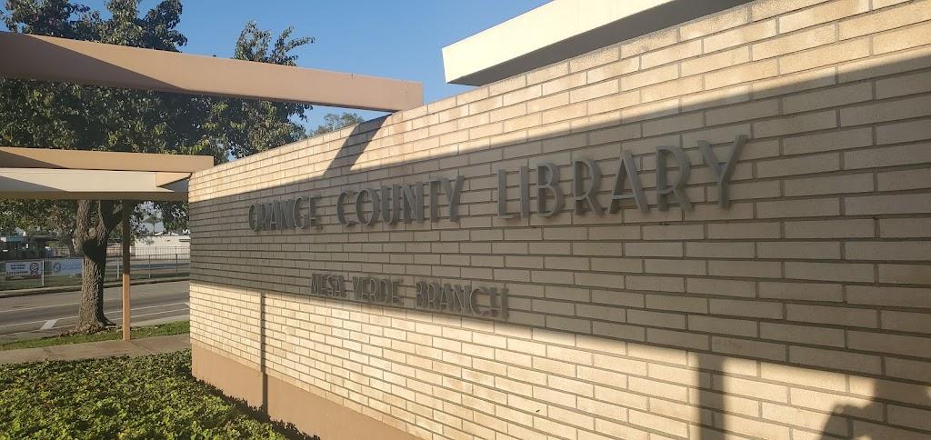 Mesa Verde Branch Library - library  | Photo 8 of 10 | Address: 2969 Mesa Verde Dr E, Costa Mesa, CA 92626, USA | Phone: (714) 546-5274