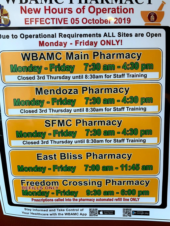 Hugo V. Mendoza Soldier Family Care Center - pharmacy  | Photo 4 of 10 | Address: 11335 Ssg Sims St, Fort Bliss, TX 79918, USA | Phone: (915) 742-2273