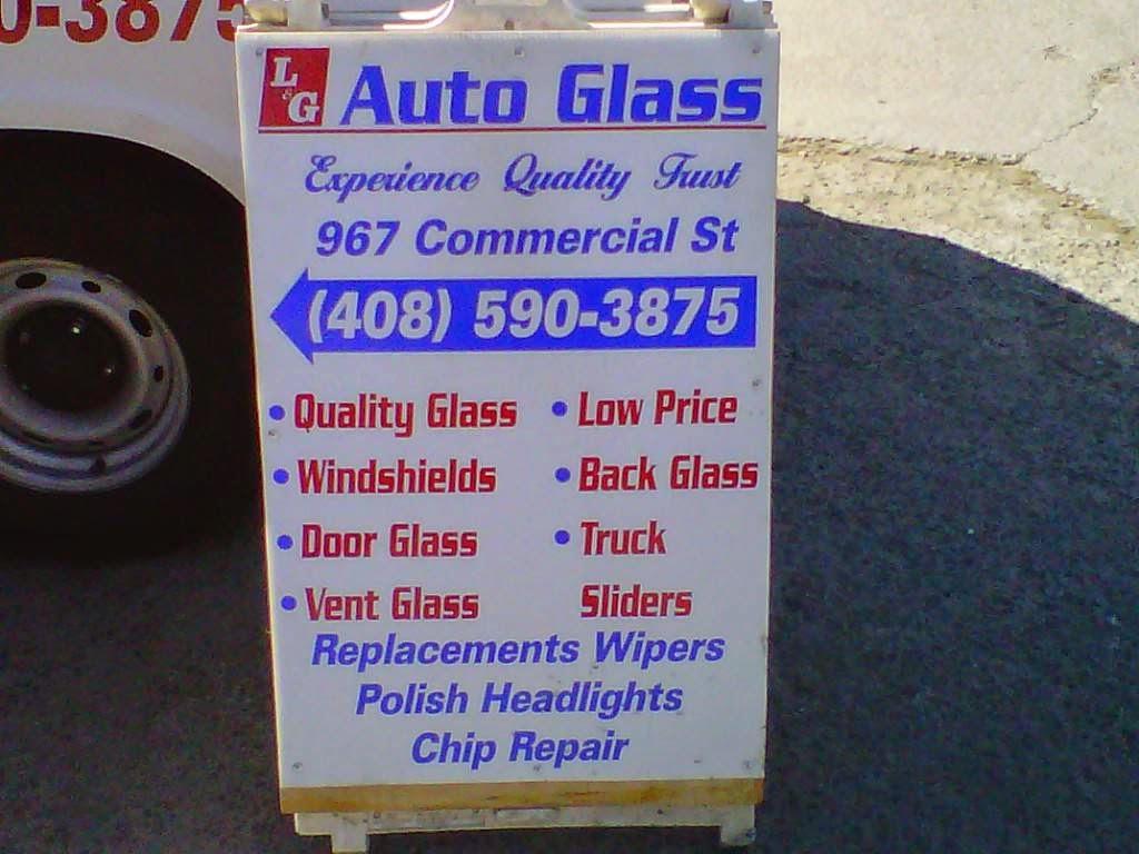 LG Auto Glass - car repair    Photo 10 of 10   Address: 1199 S 1st St, San Jose, CA 95110, USA   Phone: (408) 590-3875