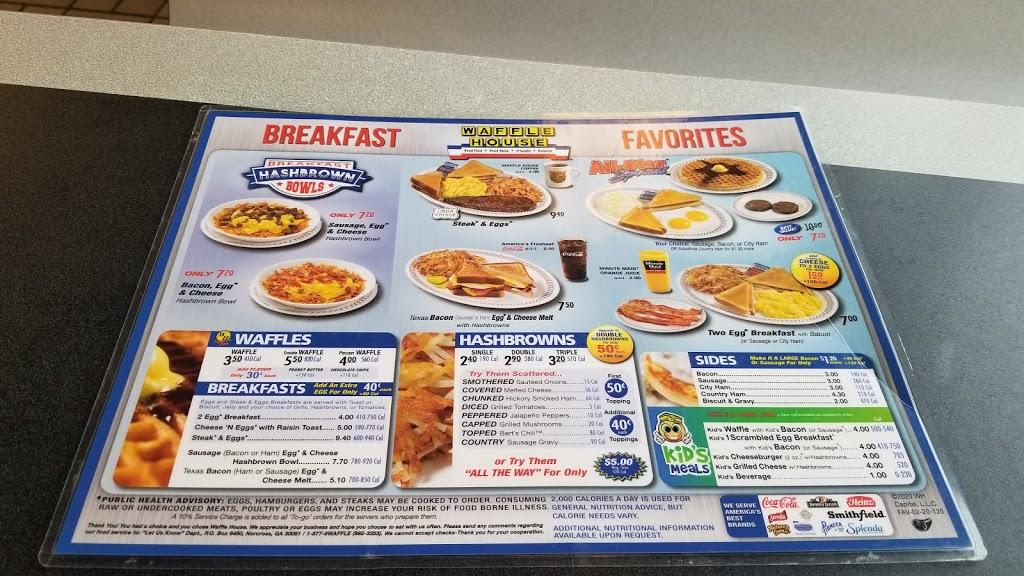 Waffle House - meal takeaway    Photo 3 of 10   Address: 6375 Jonesboro Rd, Morrow, GA 30260, USA   Phone: (770) 968-3993