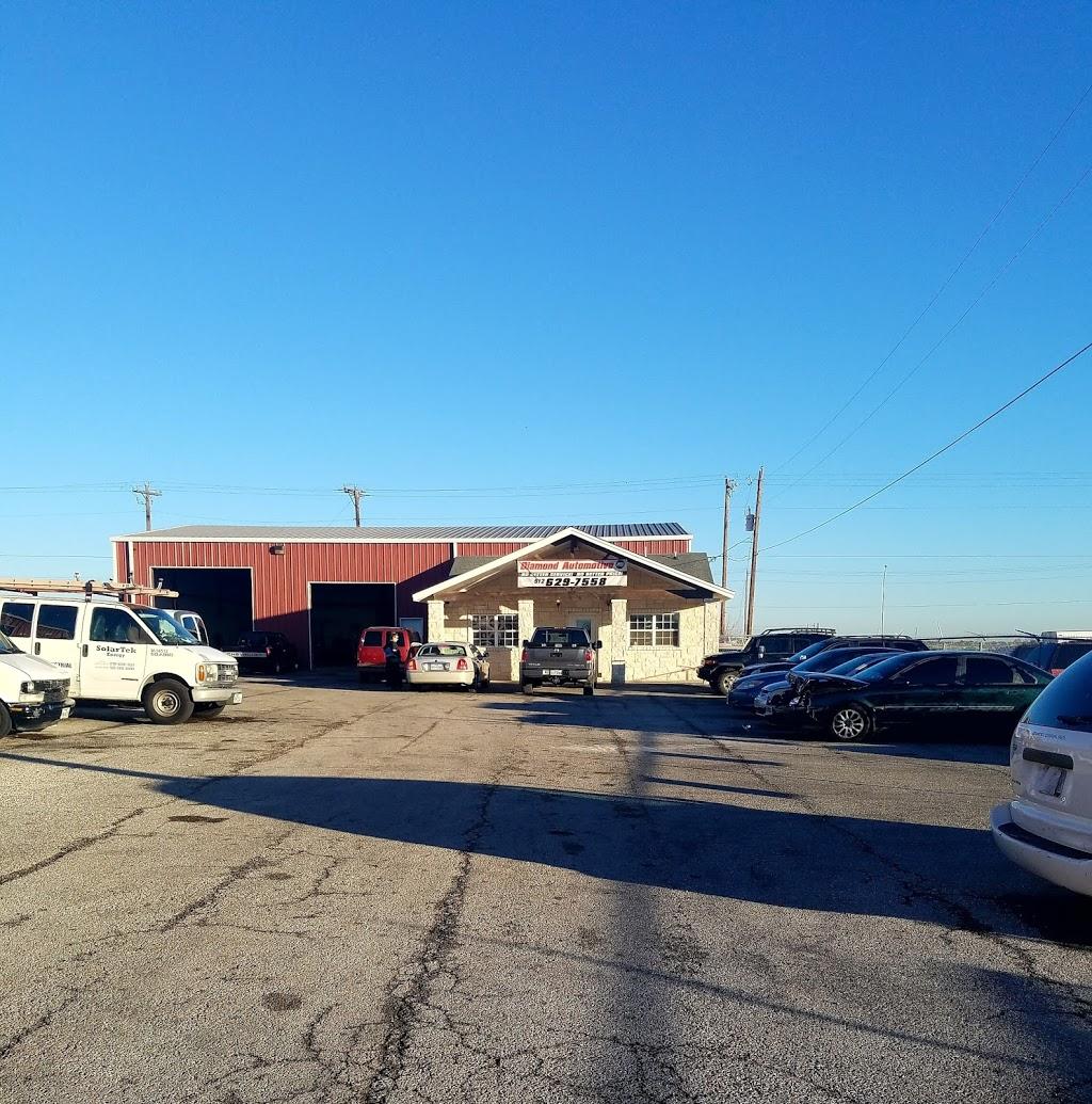 Diamond Automotive - car repair    Photo 2 of 5   Address: 3080 Kyle Crossing STE 4, Kyle, TX 78640, USA   Phone: (512) 629-7558
