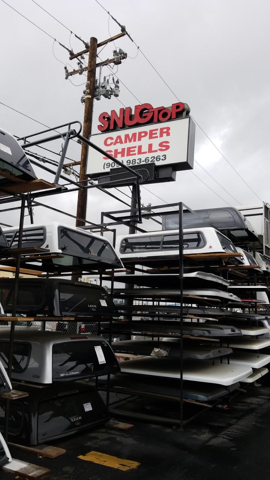 SNUGTOP California Camper Shells - car repair    Photo 2 of 10   Address: 828 W Holt Blvd, Ontario, CA 91762, USA   Phone: (909) 983-6263
