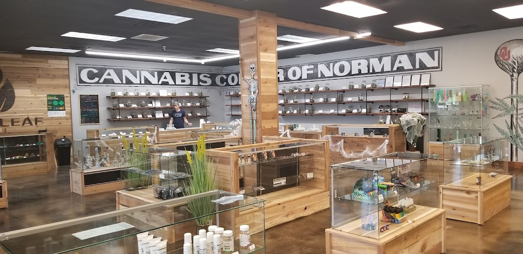 Fire Leaf Dispensary in Norman Oklahoma - pharmacy  | Photo 3 of 10 | Address: 751 S Canadian Trails Dr #120, Norman, OK 73072, USA | Phone: (405) 310-2433
