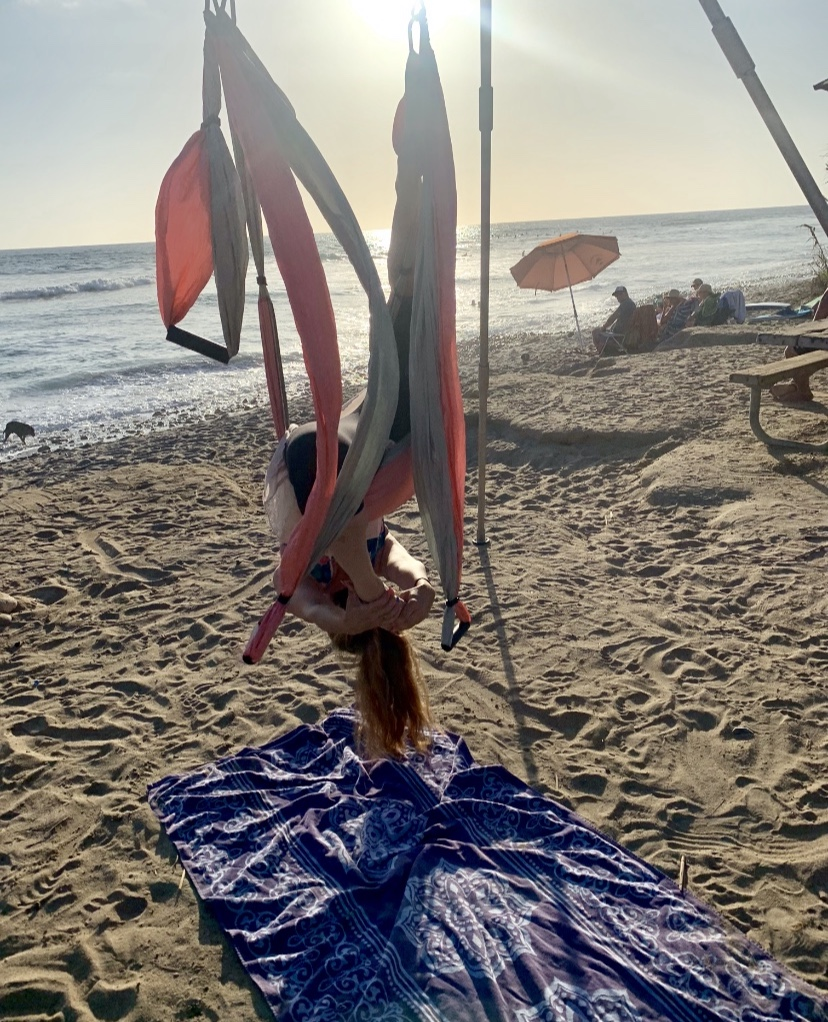 Yoga Trapeze Orange County - school    Photo 9 of 10   Address: 815 N San Pablo Ct, Long Beach, CA 90813, USA   Phone: (949) 324-6918