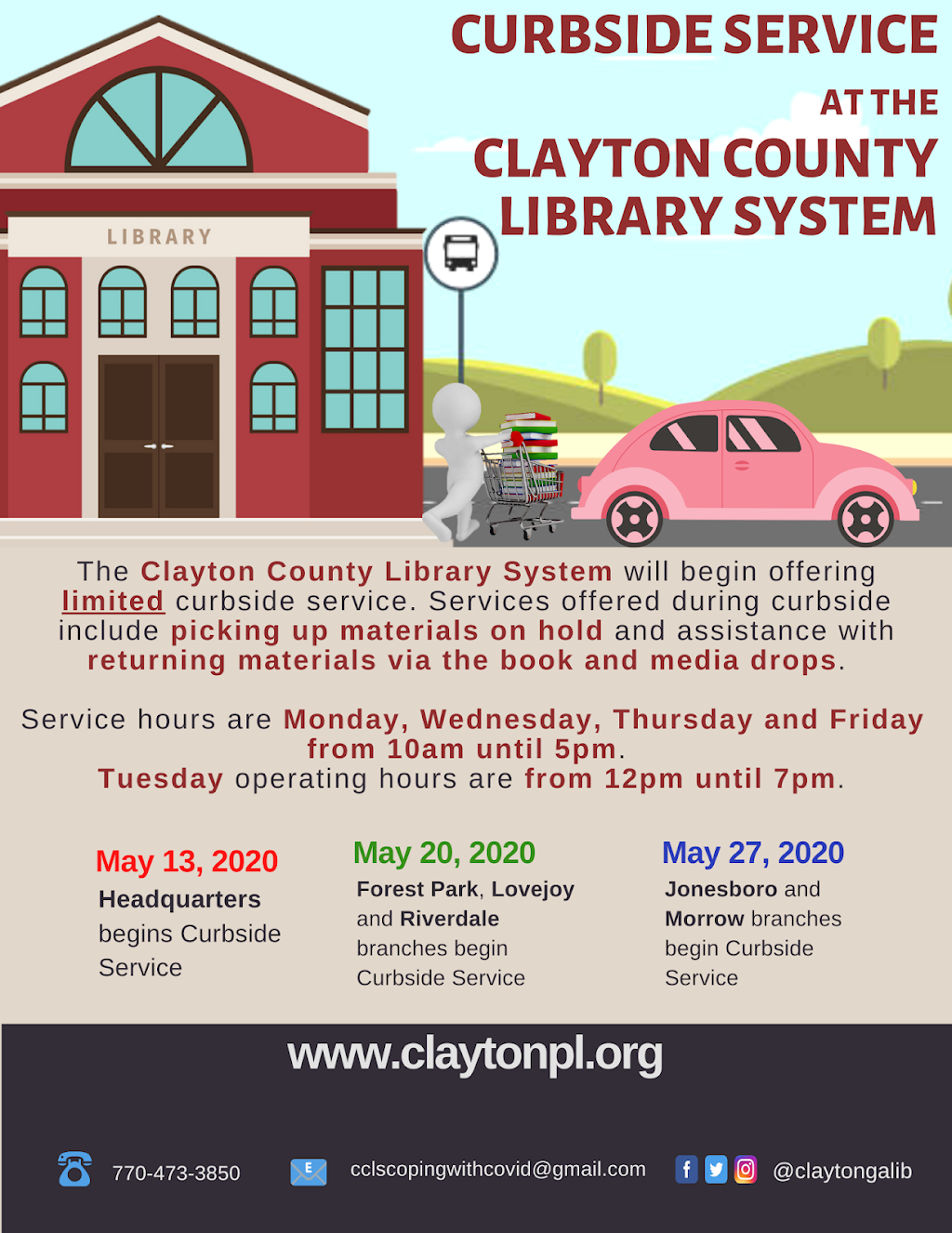 Clayton County Library System - Morrow Branch - library  | Photo 5 of 5 | Address: 6225 Maddox Rd, Morrow, GA 30260, USA | Phone: (770) 347-0170