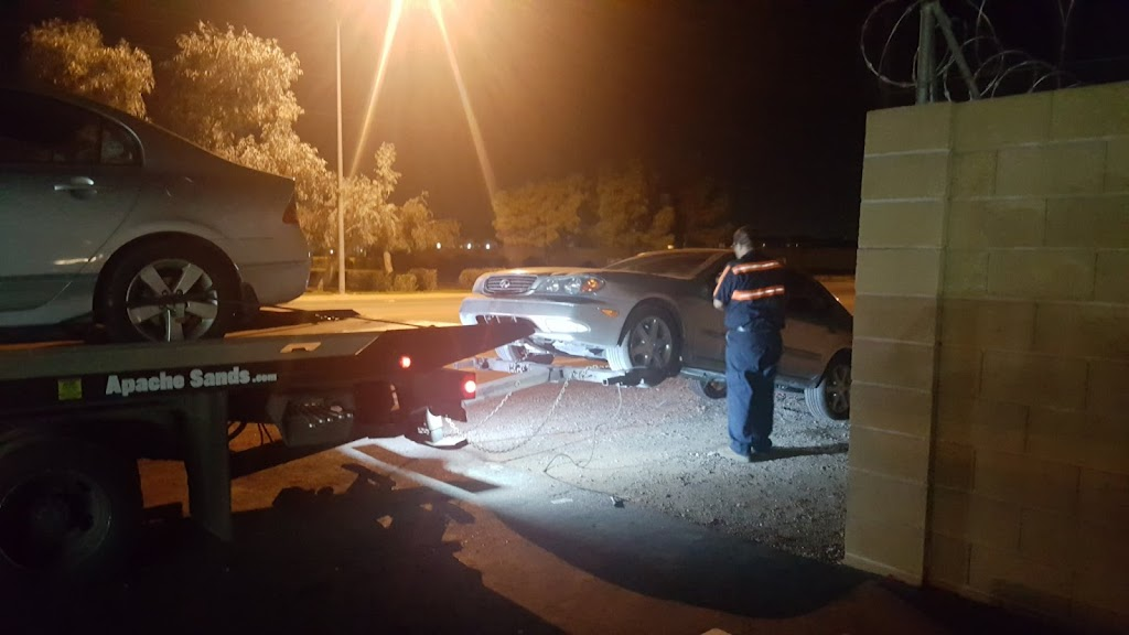 Apache Sands Service Center - car repair    Photo 3 of 10   Address: 7602 E Main St, Mesa, AZ 85207, USA   Phone: (480) 984-3101