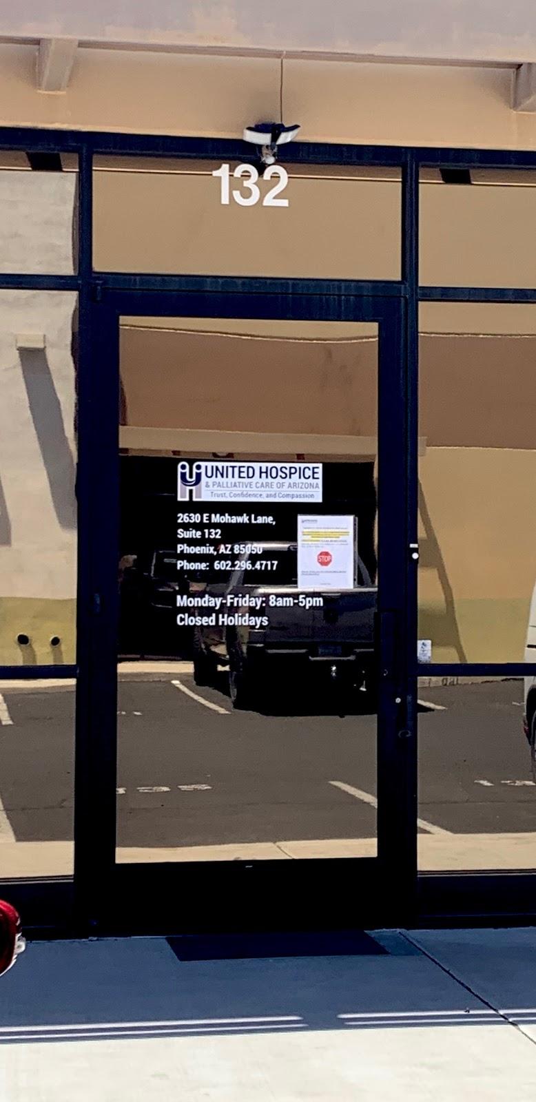 United Hospice & Palliative Care of Arizona - health  | Photo 4 of 6 | Address: 2630 E Mohawk Ln Suite 132, Phoenix, AZ 85050, USA | Phone: (602) 296-4717