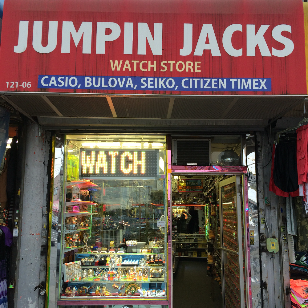 Jumping Jacks Watch Repair Shop - store  | Photo 1 of 10 | Address: 121-06 Liberty Ave, Jamaica, NY 11419, USA | Phone: (718) 848-8270
