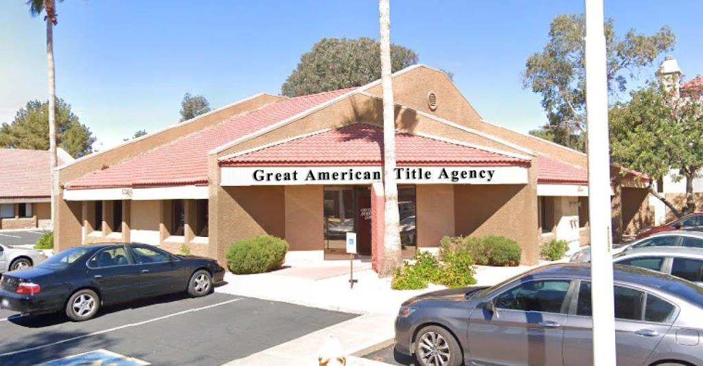 Great American Title Agency - NE Mesa - insurance agency  | Photo 1 of 2 | Address: 6344 E Brown Rd Ste 101, Mesa, AZ 85205, USA | Phone: (480) 207-7480