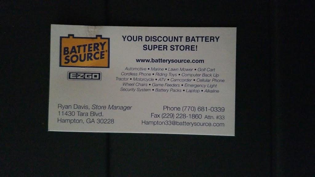 Battery Source of Hampton & Lovejoy - electronics store  | Photo 2 of 3 | Address: 11430 Tara Blvd, Hampton, GA 30228, USA | Phone: (770) 681-0339