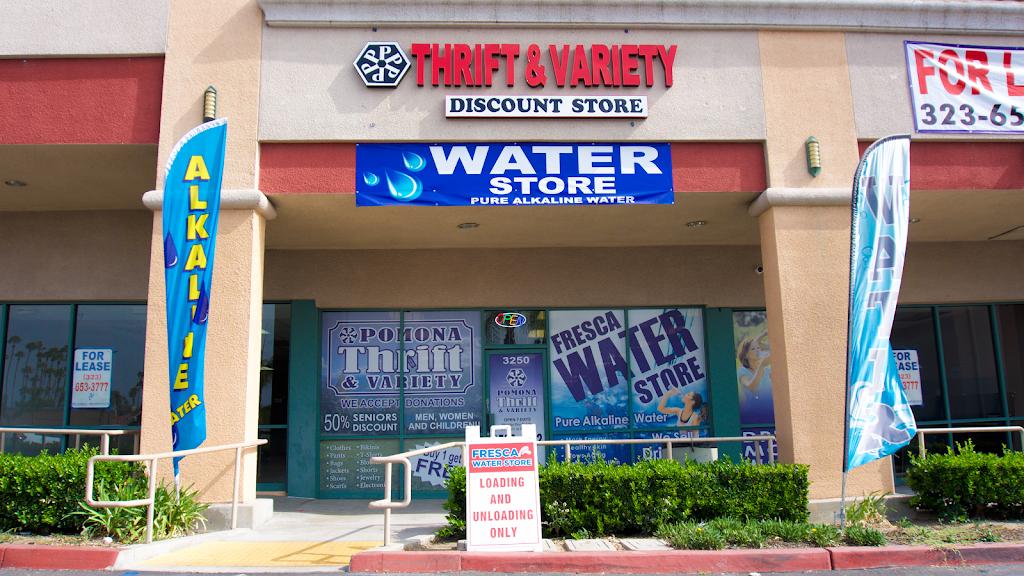 Pomona Thrift & Variety Discount Store - store    Photo 1 of 10   Address: 3250 N Garey Ave, Pomona, CA 91767, USA   Phone: (909) 506-4062