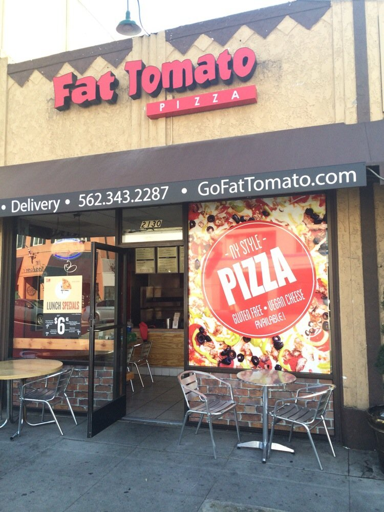 Fat Tomato Pizza - meal delivery  | Photo 1 of 10 | Address: 2130 E Broadway, Long Beach, CA 90803, USA | Phone: (562) 343-2287
