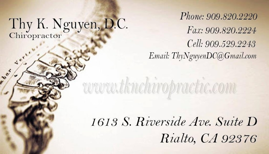 Advanced Care Chiropractic Center, Inc - doctor  | Photo 2 of 3 | Address: 1613 S Riverside Ave suite d, Rialto, CA 92376, USA | Phone: (909) 820-2220